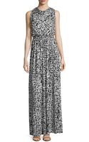 Rachel Pally Splatterprint Draped Maxi Dress - Lyst