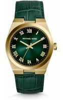 Michael Kors Channing Crocodileembossed Leather Watch - Lyst