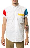 Apliiq The Vette Short Sleeve Buttondown - Lyst