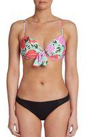 Nanette Lepore Diva Underwire Bikini Top - Lyst
