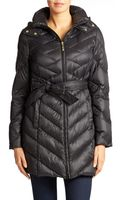 Ellen Tracy Packable Down Coat - Lyst