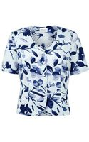Eastex Inkstone Floral Blouse - Lyst