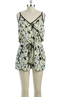 French connection Floral Romper - Lyst