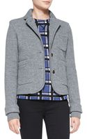 Marc By Marc Jacobs Skylar Knit-trim Sweater Jacket - Lyst