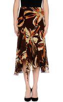 Maria Grazia Severi 34 Length Skirt - Lyst