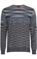 Missoni Long Sleeve Space Dye Tshirt - Lyst