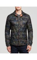 Scotch & Soda Quilted Camo Jacket - Lyst