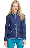 Brooks Brothers Long Sleeve Quilted Jacket - Lyst