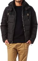 Volcom Quilted Jacket - Lyst