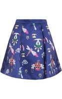 Mary Katrantzou Calculon Symbol Print Skirt - Lyst
