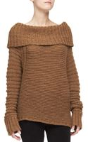 Donna Karan New York Oversized Cowl-neck Sweater - Lyst