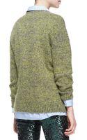 No 21 Woolblend Knit Pullover Sweater - Lyst