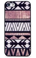 Blissfulcase Iphone 55s Geo Aztec White Wood Print Case - Lyst
