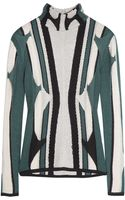 Peter Pilotto Knitted Silk Sweater - Lyst
