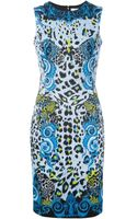 Versace Leopard Print Dress - Lyst