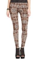 Material Girl Animal Print Leggings - Lyst