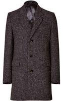 Maison Martin Margiela Wool Coat - Lyst