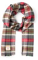 DSquared2 Check Scarf - Lyst