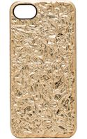 Marc By Marc Jacobs Foil Iphone 5 Case - Lyst
