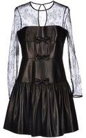 Valentino Short Dress - Lyst