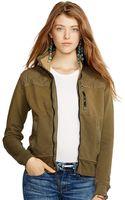 Polo Ralph Lauren Quilted Mockneck Jacket - Lyst