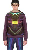 Tothem Plexi Print Techno Jersey Sweatshirt - Lyst