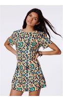 Missguided Wianawa Tribal Print Shift Dress - Lyst