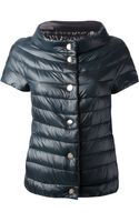 Herno Short Sleeved Puffer Jacket - Lyst