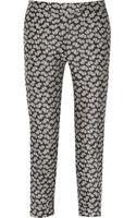 Stella McCartney Portman Jacquard Tapered Pants - Lyst