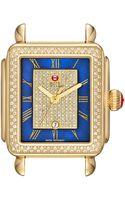 Michele Deco Diamond Watch Head - Lyst