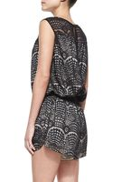 Twelfth Street by Cynthia Vincent Gym Shorts Lace Jumpsuit - Lyst