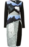 Peter Pilotto Sona Embellished Dress - Lyst