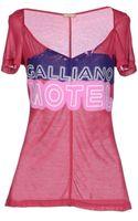 John Galliano Tshirt - Lyst