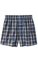 Gap Tony Plaid Boxers - Lyst
