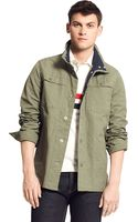 Tommy Hilfiger Military Jacket - Lyst