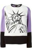 Fausto Puglisi Statue Of Liberty Top - Lyst