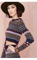 Nasty Gal Aspen Sweater - Lyst
