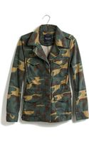 Madewell Outbound Jacket in Vintage Dyed Camo - Lyst