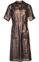 Marc Jacobs Kneelength Dress - Lyst