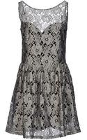 Again Short Dress - Lyst