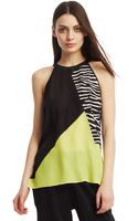 Kenneth Cole Maude Sleeveless Blouse - Lyst