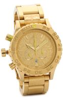 Nixon 42-20 Chrono Watch - Goldneon Yellow - Lyst