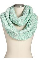 Old Navy Chunky-knit Marled Infinity Scarves - Lyst