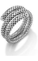 John Hardy Double Coil Bracelet - Lyst