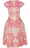 Temperley London Tula Jacquard Structured Dress - Lyst