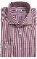 Kiton Two Tone Plaid Dress Shirt - Lyst