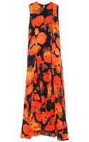 Jenni Kayne  Printed Godet Gown - Lyst