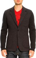 Dolce & Gabbana Twobutton Wool Sleeve Jacket - Lyst