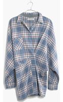 Madewell Rivet  Thread Flannel Tiltcatch Shirt in Hanna Plaid - Lyst