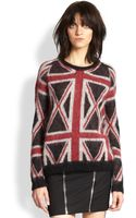 The Kooples Union Jack Sweater - Lyst